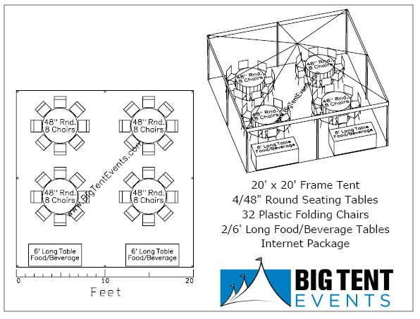 Big Tent Events Frame Tent Rental Weddings Party
